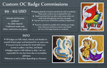 Custom Badge Commission Info by Sparkle-And-Sunshine