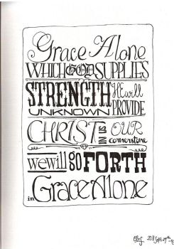 grace alone by chuckTHEchick