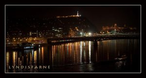 Budapest by Night by lyndisfarne