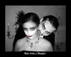 kiss from a vampire by silvercrow