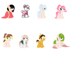 [FAW] Themed Adopts - Japanese by SweetKorruption