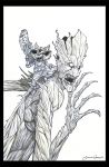 Rocket and Groot by voya
