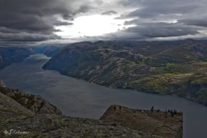 Lysefjord and Preikestolen by Sockrattes
