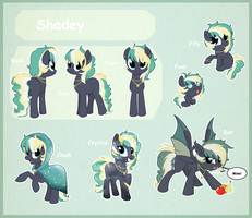 Shadey reference sheet by StarDust-Adoptables