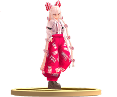 MMD Trophy: Montecore and Nya Mokou by Rea-Usax