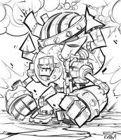Steam Bot Lines by frogbillgo