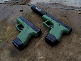 Twin Glocks by Profail