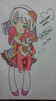 LoL Speed Art - Sweetheart Annie by TheLAsiaNG