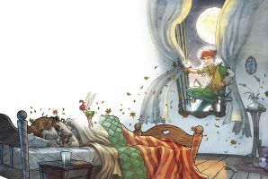 Peter Pan   -    Part 2 by Giacobino