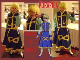 Kurapica Cosplay by kojika