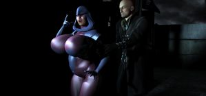 Psylocke peril: Out of the Darkness by Tazirai