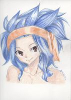 Levy-chan colo by Shiroichi-chan