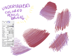 Colored Pencil Brush [paint tool sai] by undertaeker