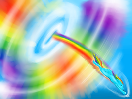 Sonic RainBOOM by Silvestrate