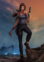 Tomb Raider Contest Colors by Arciah