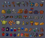 Game Icons by 1gga