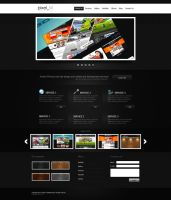 Portfolio Layout by th3rion