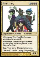 Gorillaz Magic Card by Star-Clair
