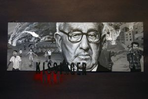 Kissinger's War - Painting by piajartist