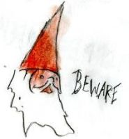 Gnome of Warning. by Fish-man