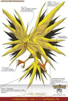 L'Pokedex 145 - Zapdos FR by Pokemon-FR