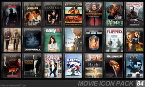 Movie Icon Pack 84 by FirstLine1