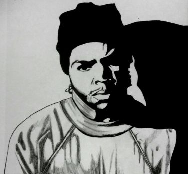 Ice Cube Drawing  by omartheartist