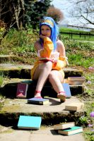 Levy McGarden - Reading is my passion by ThemisValvernis