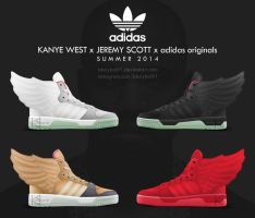 Kanye West x Jeremy Scott x adidas originals Wings by BBoyKai91