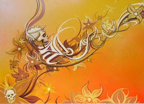 2006Skulls and Flowers   (2) by MateoGraph