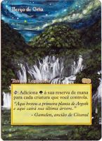 Magic the Gathering Alteration: Gaea's Cradle by Ondal-the-Fool