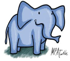 Elephant by mpa-the-artist