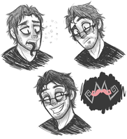 darkiplier?.. maybe. by Tea-cup-kitty