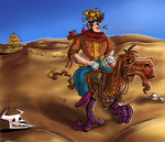 Desert Rider by Whispering-forests
