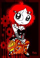 Halloween' 11 ruby gloom by Rayryan