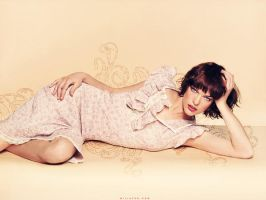 Milla Jovovich by i-love-my-zombie