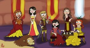 gift - lannisters by kaleadora