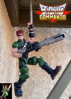 Bionic Commando Hanging 10 by Jin-Saotome
