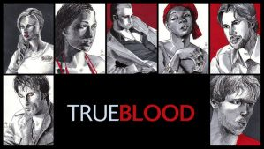 True Blood sketch cards by febbik
