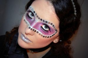 Mask Make up by LadyBranwick