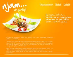 njam... foods website by Indriks
