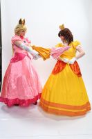 Parasol Fight 'Naka-Kon 2013' by BeCos-We-Can-Cosplay