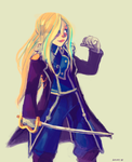 Olivier Armstrong by jununy