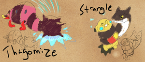 Prof. Saguaro's Journal- Thagomize/Strangle by T-Reqs