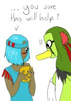 Pokewest MM: Kachina is doing her job uvu by Platypoid