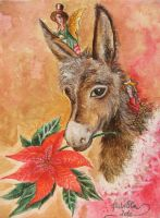 The donkey's Christmas by FiabeSCa