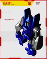 MINIBOT BLUESKY by F-for-feasant-design