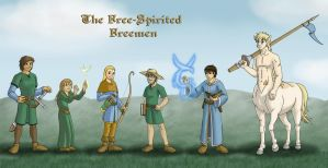 The Free-Spirited Freemen by LavinaArrow