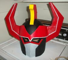 MegaZord Helm WIP 3 by ShadowMaginis