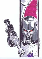 Megatron by MichaelOdomArt